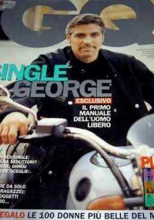 GQ July01 George Clooney Heidi Klum G Vialli Heather Graham