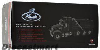 First Gear 1 34 10 3923 Mack Granite MP Engine Dump Truck New Diecast