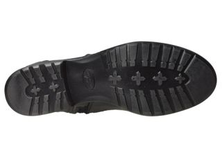 Anne Klein Womens Boots Keera Black Leather Sz 9 5 M