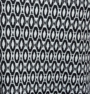 NWT Maggie BARNES Plus Size 3X 4X Black White Knit Blazer Jacket Top