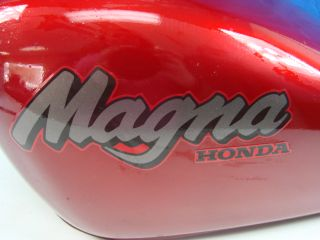 Magna Gas Tank 750 Candy Apple Red Motorcycle Exterior Bike Parts