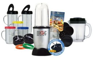 New Magic Bullet Deluxe 26 Piece Blender Mixer Set 25 Piece Ice Shaver