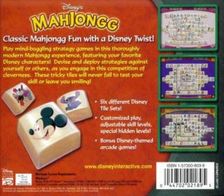 Mahjongg PC CD match cartoon characters mahjong matching tiles game