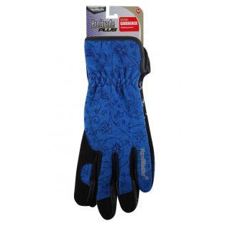 Magid Glove ProGrade Plus Womens Deluxe Gardener Glove, Blue, Medium
