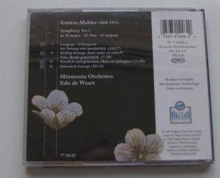 Edo de Waart Mahler Symphony 1 CD 1990