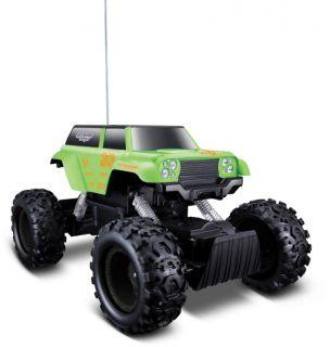 Maisto Rock Crawler Remote Control 4WD Truck R C RTR GR