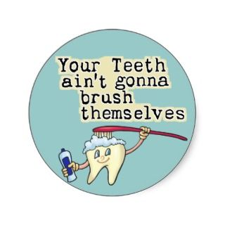 Dentist and Dental Hygienist Humor Stickers