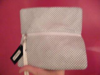 BEBE Bag Purse Handbag Pocketbook White Clutch Chainmai Wallet