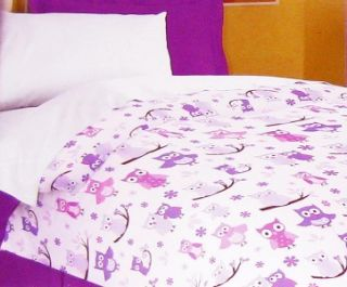 This listing is for a brand new Maiara Owl Comforter