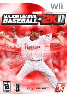 2k11(2011) Nintendo Wii Major League Baseball Multiplayer Sports Video