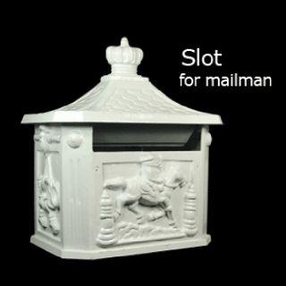 42 Tall Victorian Style Mailbox Mail Box Post M 02