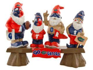 Florida Gators NCAA College Gnome Garden Decoration Figurine