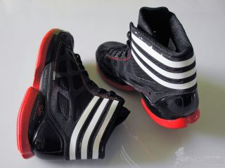 Adidas Adizero Crazy Light Derrick Rose Black White Red Men Basketball
