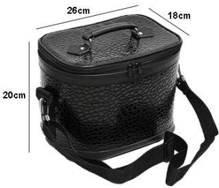 Travel Makeup Case Bag Cosmetic Professional Box Organizer Caddy