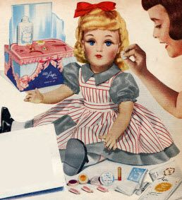 1950s Harriet Hubbard Ayers Cosmetic Doll P 93 A Great Christmas Gift