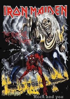 Iron Maiden The Number of The Beast Heavy Metal Rock T Shirt L XL 2XL