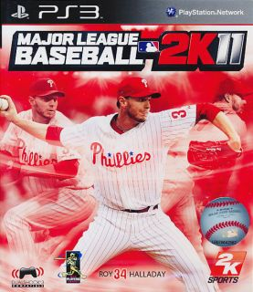 Major League Baseball 2K11 MLB PS3 Game Brand New SEALED 710425379635