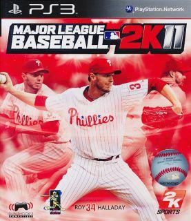 Major League Baseball 2K11 MLB PS3 Game Brand New SEALED 710425379635