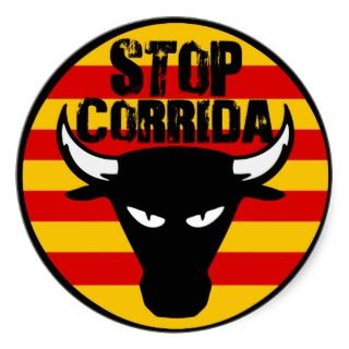 Stop Corrida Sticker