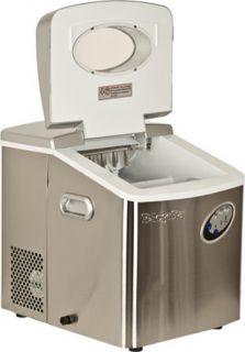 Steel Ice Maker, Compact Ice Cube Machine, Countertop IM 120S