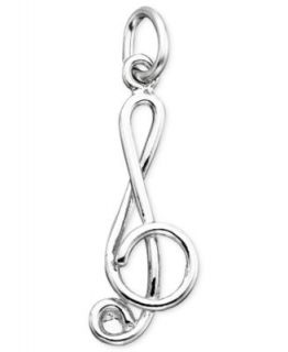 Rembrandt Charms Sterling Silver Four Leaf Clover Charm   Fashion