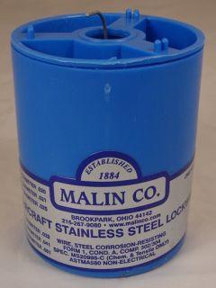 Malin Aviation Lock Safety Wire Stainless Steel 051