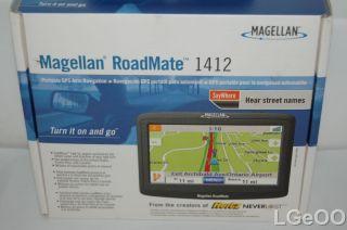 Magellan Roadmate 1412 GPS Receiver Navigation System
