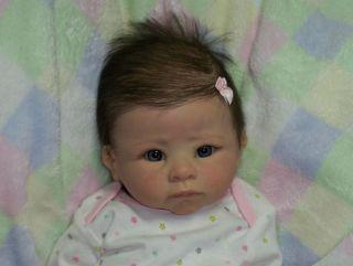 Reborn Baby Girl Mandy Linda Murray Andi Awake Doll