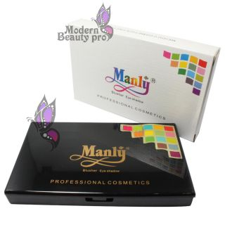 Manly 120 Full Color Shimmer Eyeshadow Makeup Palette #2 Wedding Party