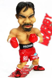 Manny Pacquiao Boxing Pacman Ver2 Funny Painted Deformed SD Resin