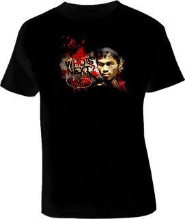Manny Pacquiao Boxing Champ Legend T Shirt