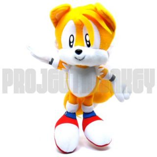 Hedgehog Tails Plush Doll Anime Manga SEGA Officially Licensed Genuine
