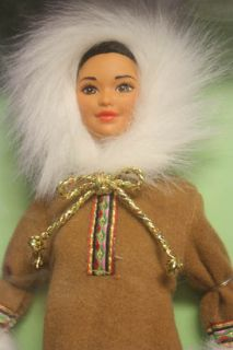 1997 Arctic Barbie from Dolls of the World Barbie DOTW by Mattel (NRFB
