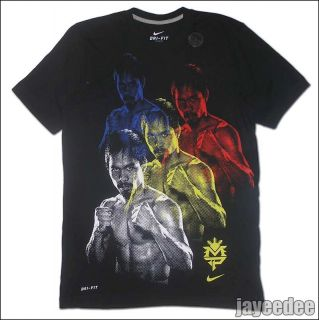 New Nike Manny Pacquiao Double Vision Shirt Trainer 1 3 Breathe Knows