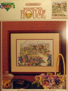 Counted thread cross stitch pattern, The Manor House.
