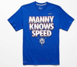 Nike Manny Knows Speed Manny Pacquiao Mens T Shirt Manny Pacquiao x