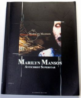 Marilyn Manson Antichrist Superstar Band Score Japan Tab