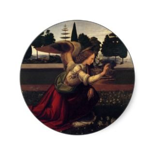 Annunciation   Angel Stickers