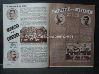 Raul Cruz Photocover Mexican Boxing Magazine 1970