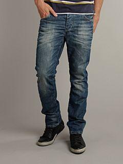 Jack & Jones CLARK ORIGINAL JOS 217 regular fit jeans Denim Mid Wash