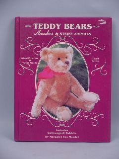 Teddy Bears Annalees Steiff Animals Mandel 1997