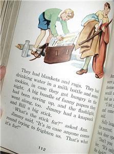 Vintage Book The Five and A Half Club 3rd Grade Reader Primer School