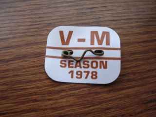 Original 1978 Ventnor Margate N J Beach Tag Badge