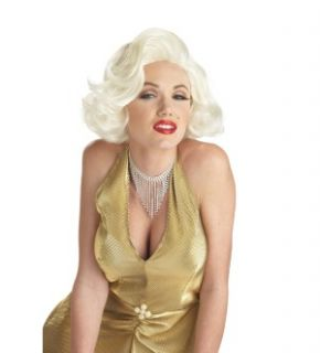 Marilyn Monroe Classic Wig Costume Brand New