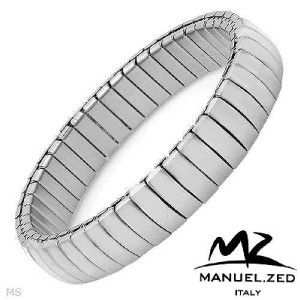 Manuel ZED Made in Italy Stainless Steel Bracelet