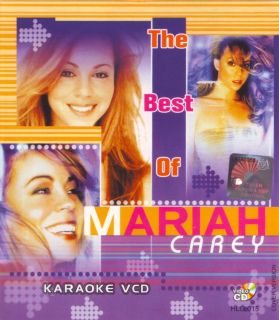 The Mariah Carey Karaoke Music Video CD DVD Cover Version
