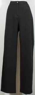 St John Granite Roma Ponte Knit 5 Pkt Pants 2 Marie