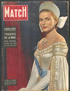 Paris Match Ingrid Bergman Chaplin Marilyn Monroe Nasser Fred Astaire