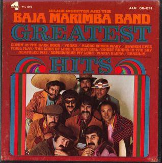 Baja Marimba Band Greatest Hits A M Reel Tape 7½ IPS