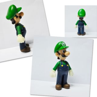 New Super Mario Bros 5 Luigi Action Figure Toy M1
